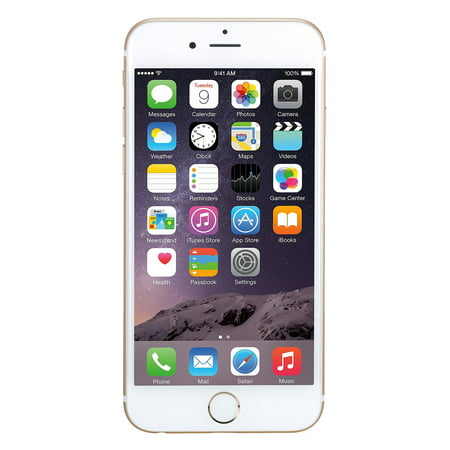 Refurbished Apple iPhone 6 64GB, Gold - Unlocked