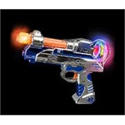 Kids Light Up Toy LED Laser Blaster Gun with Sounds
