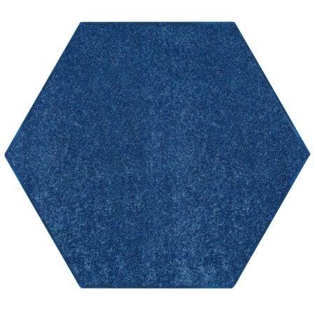 Bright House Solid Color Area Rugs Royal - 6