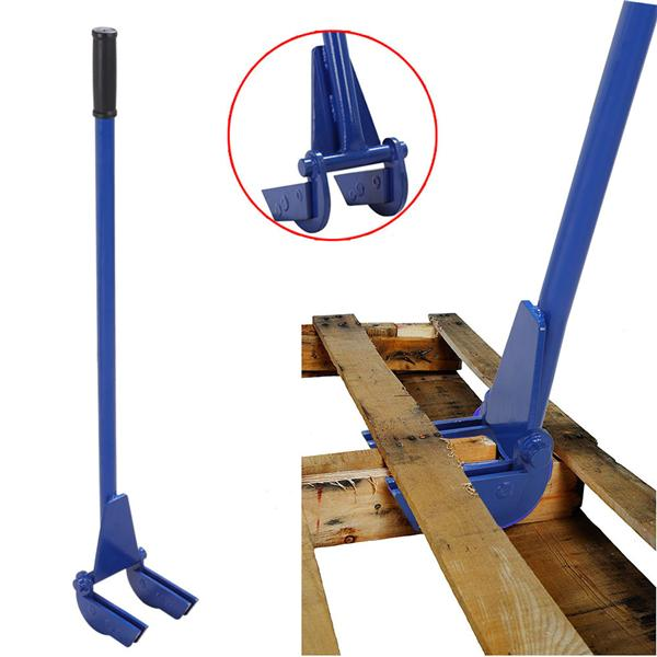 "Yaheetech Iron Pallet Buster with 44"" Handle, Blue"
