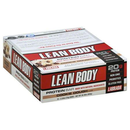 Labrada Nutrition Lean Body  Protein Bars, 12 ea