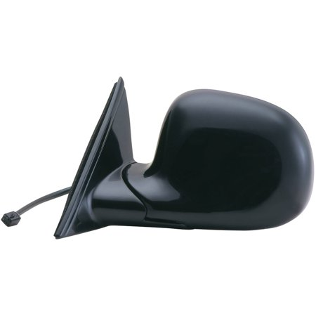 62040G - Fit System Driver Side Mirror for 95-98 Oldsmobile Bravada, 98 Blazer, S-10, Jimmy, Envoy, Sonoma, Hombre, black, foldaway, Power