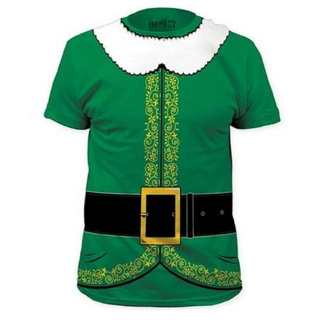 1a2481dd7 MyPartyShirt - MyPartyshirt Green Elf The Movie T-shirt - Walmart.com