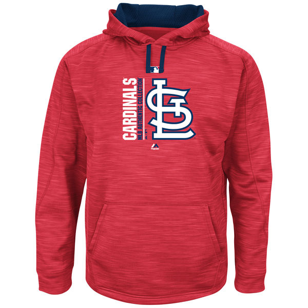St. Louis Cardinals Mens Team Icon  Pullover Hoodie Jacket