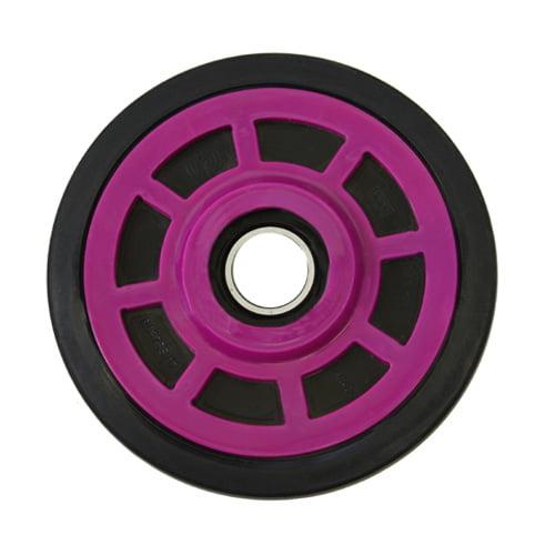 PPD Plum Idler Wheel 6 3/8 O.D. X 25MM I.D. for POLARIS TX-C 1979-1982