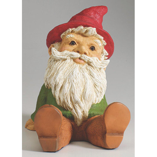 Heritage Farms Sitting Gnome Statue