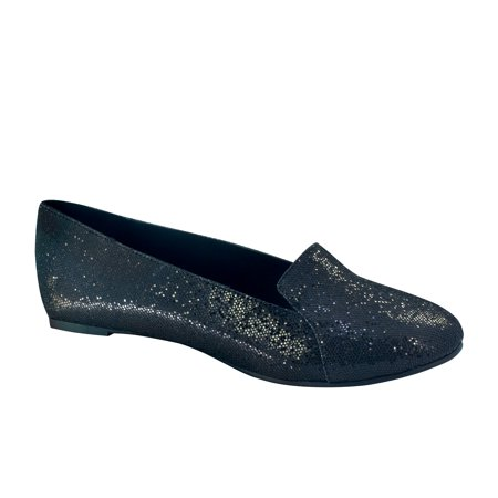 Touch Ups Womens Tammy Flat Black Prism 6 M Us