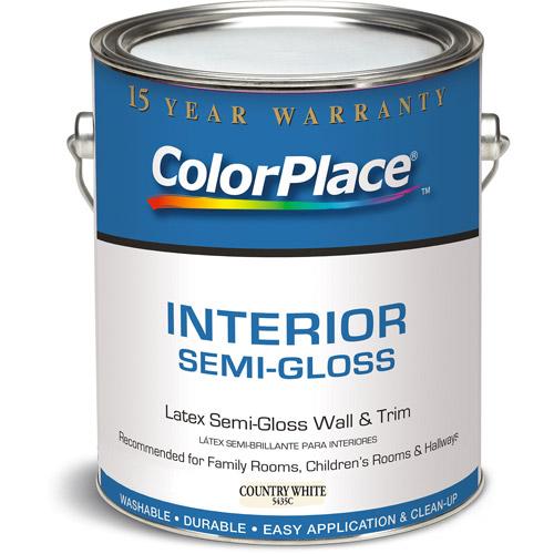 Colorplace Country White Semi Gloss Grab-N-Go, 1-Gallon