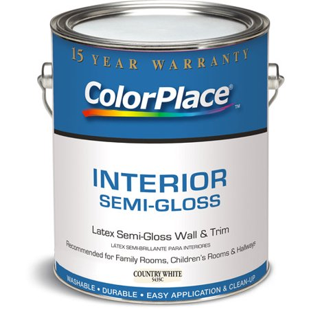 Colorplace Grab N Go Country White Semi Gloss Interior Paint 1 Gallon