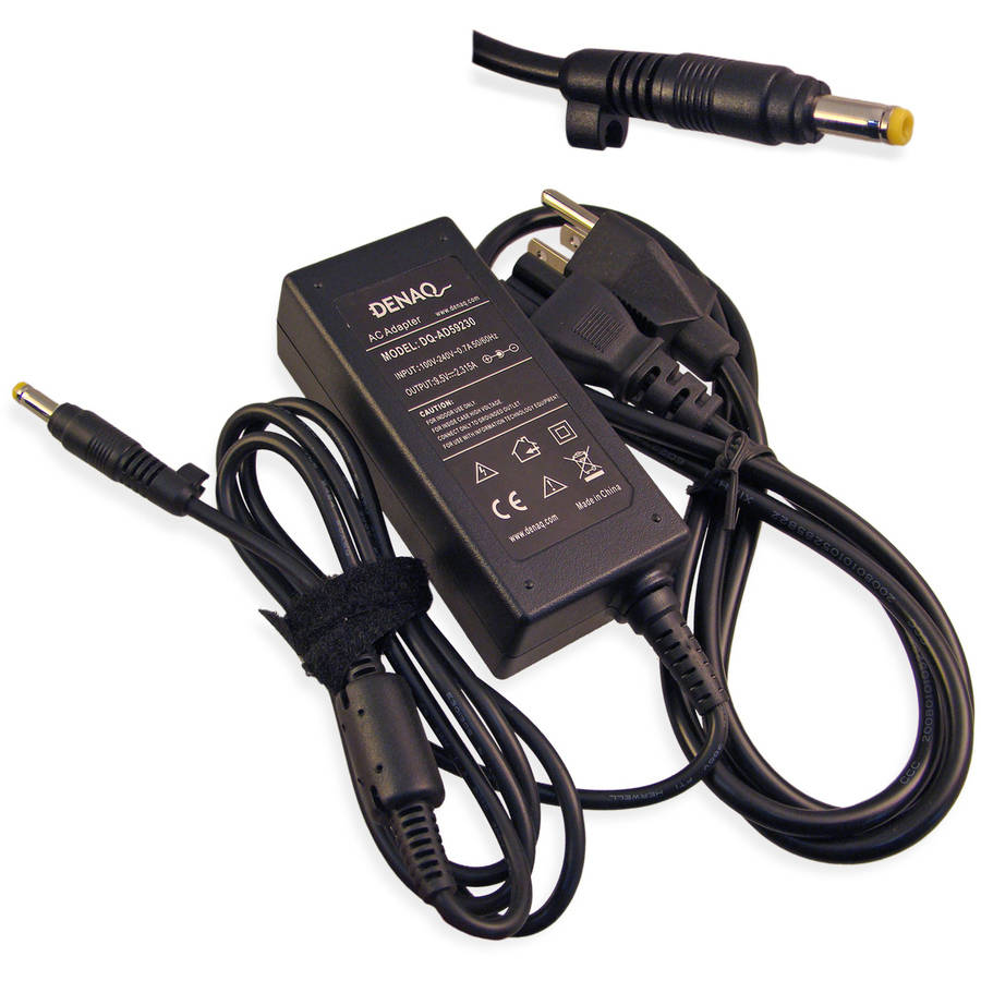 DENAQ 9.5-Volt 2.315-Amp 4.8mm-1.7mm AC Adapter for ASUS EEE PC Series Laptops