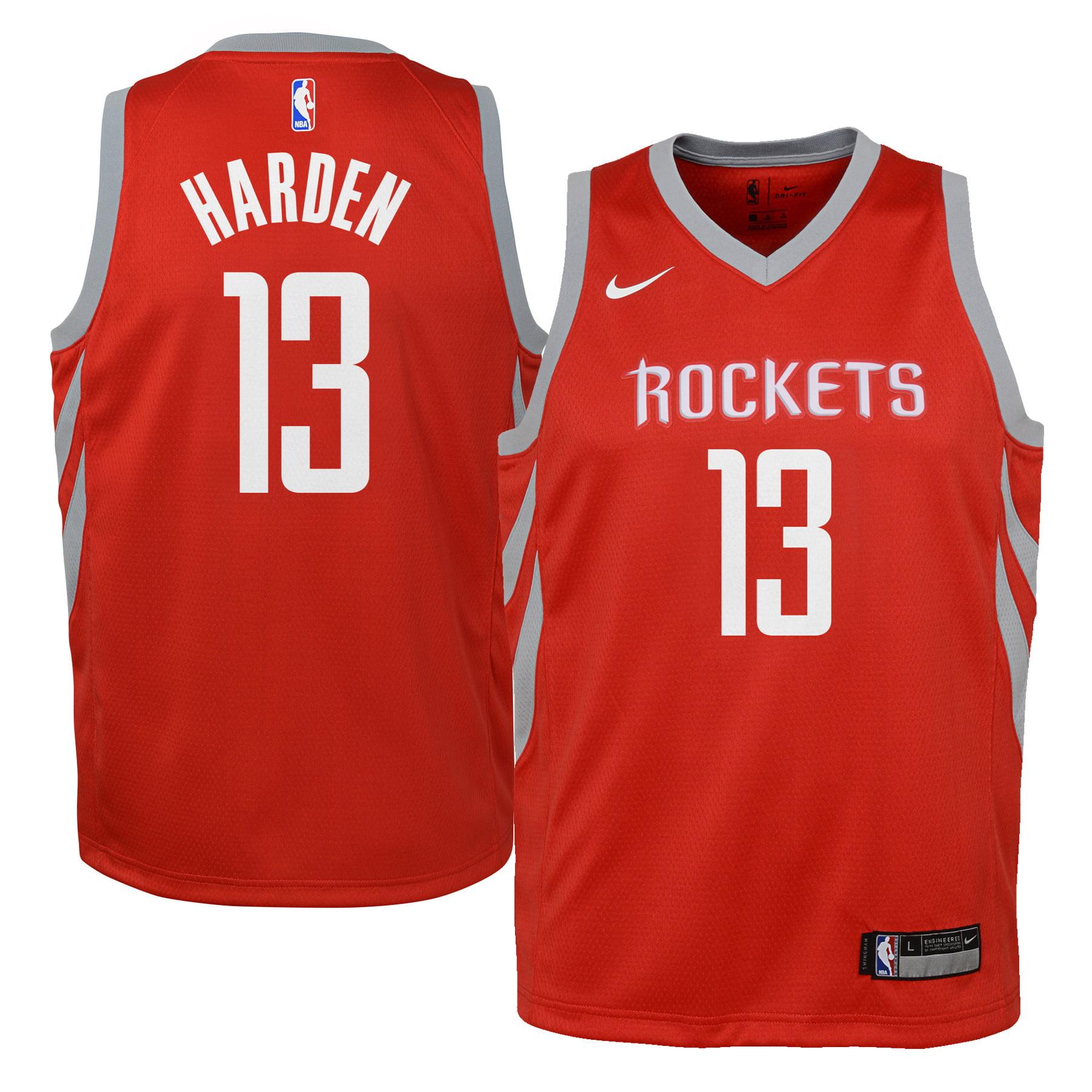 James Harden Houston Rockets Nike Youth Swingman Jersey Red - Icon Edition