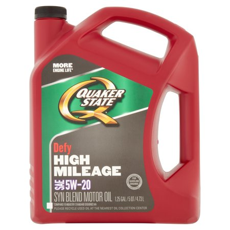 Quaker state defy high mileage 5w20 5 quart for Quaker state advanced durability motor oil review