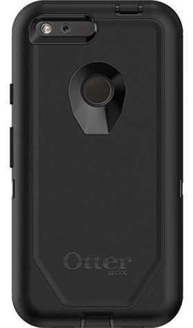 "OtterBox Defender Carrying Case (Holster) for Google Pixel 5.5"" phone - Black"