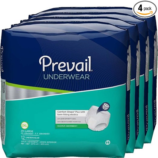 PREVAIL PROT UNDWR PV-514, CS/56 XLG GREMLIN MEDICAL SUPPLY