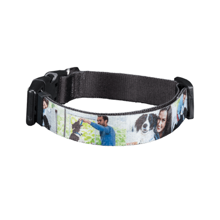 3/8 Premium Pet Collar (Pet Photo Collar, Small )