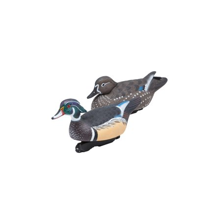 FINAL APPROACH Floating Wood Duck 474350FA Decoy High Visibility Paint 6 Pack - Hand Painted Duck Decoy