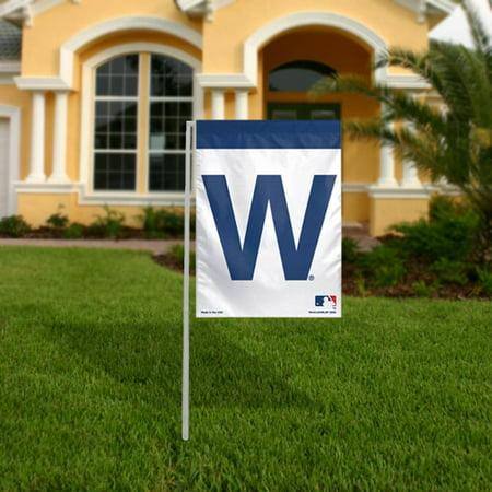 WinCraft Chicago Cubs 11'' x 15'' Winning Logo Garden Flag - No Size
