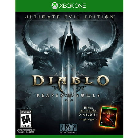 Diablo 3 Ultimate Evil Edition, Blizzard Entertainment, Xbox One, (Heroes Of The Storm Prime Evil Diablo)