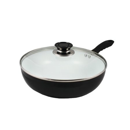 Concord Cookware 11 Non Stick Ceramic Deep Fry Pan Wok