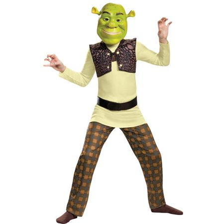 Morris Costumes DG86340L Shrek Classic Child Costume, Size 4-6