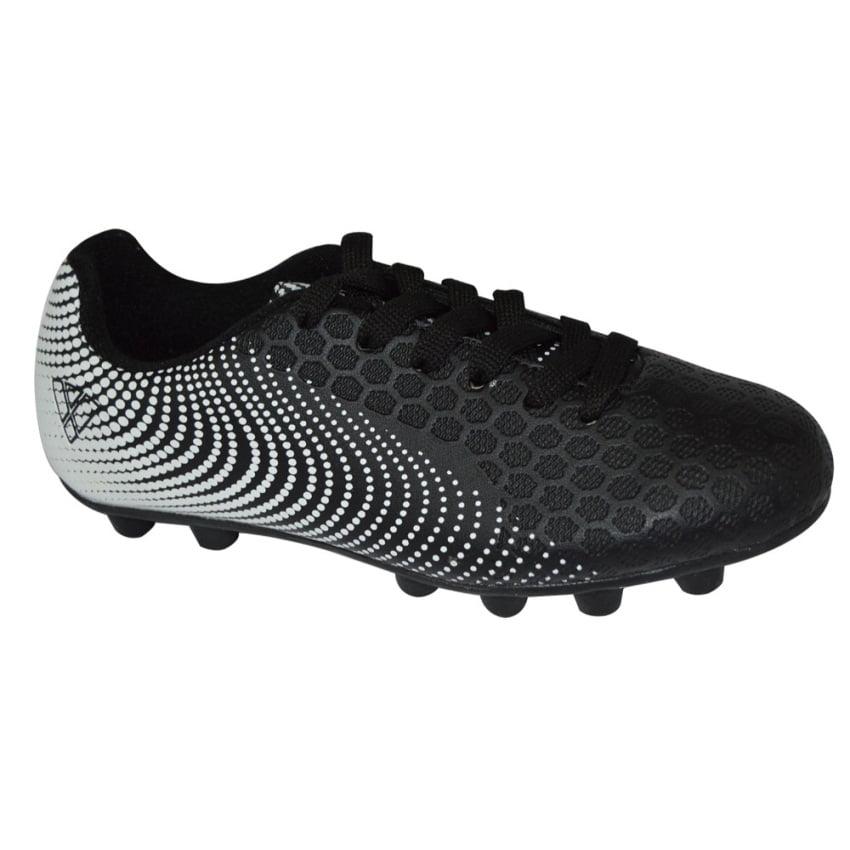 Vizari Stealth FG Black//White Soccer Shoe