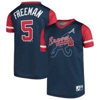 60029f06c3e Product Image Freddie Freeman Atlanta Braves Majestic Youth Play Hard  Player V-Neck Jersey T-Shirt
