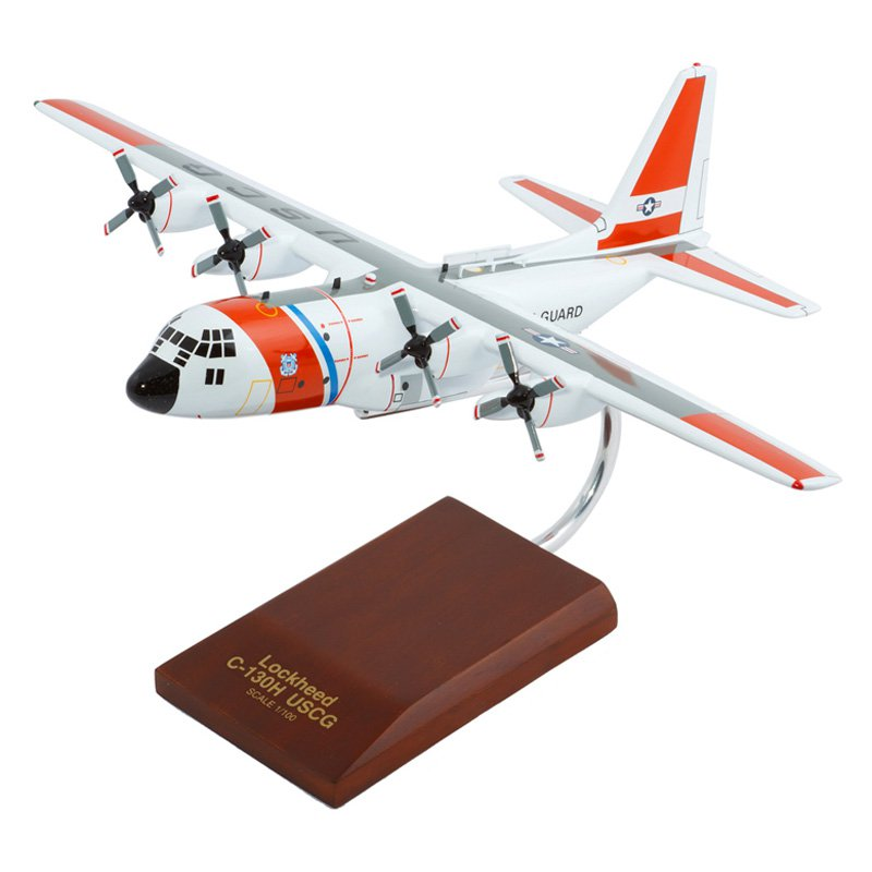 Daron Worldwide HC-130H Hercules USCG Model Airplane by Toys and Models Corporation