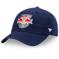 New York Red Bulls Fanatics Branded Fundamental Adjustable Hat - Navy - OSFA