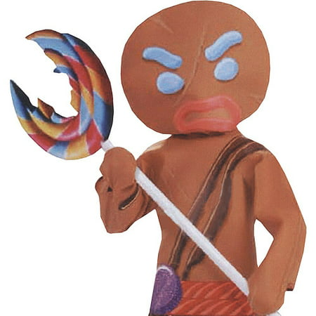 Halloween Gingerbread Man Inflate Lollip