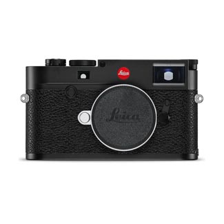 Leica M10 Mirrorless Digital Rangefinder Camera (Black Chrome finish) 20000 by Leica