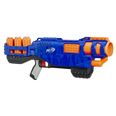 Nerf N-Strike Elite Trilogy DS-15 Toy Blaster with 15 Official Nerf Elite Darts