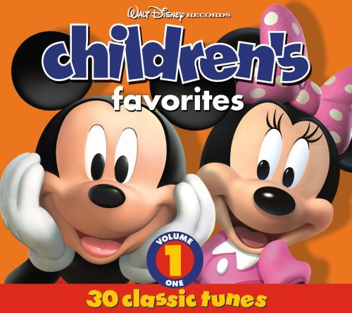 Walt Disney Records - Children's Favorites, Vol. 1 (CD)
