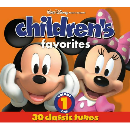 Children's Favorites, Vol. 1 - Children's Halloween Music Cd