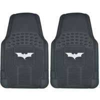 Dark Knight Batman Rubber Floor Mats for Car, 2-Piece Front Trimmable Heavy-Duty Protection