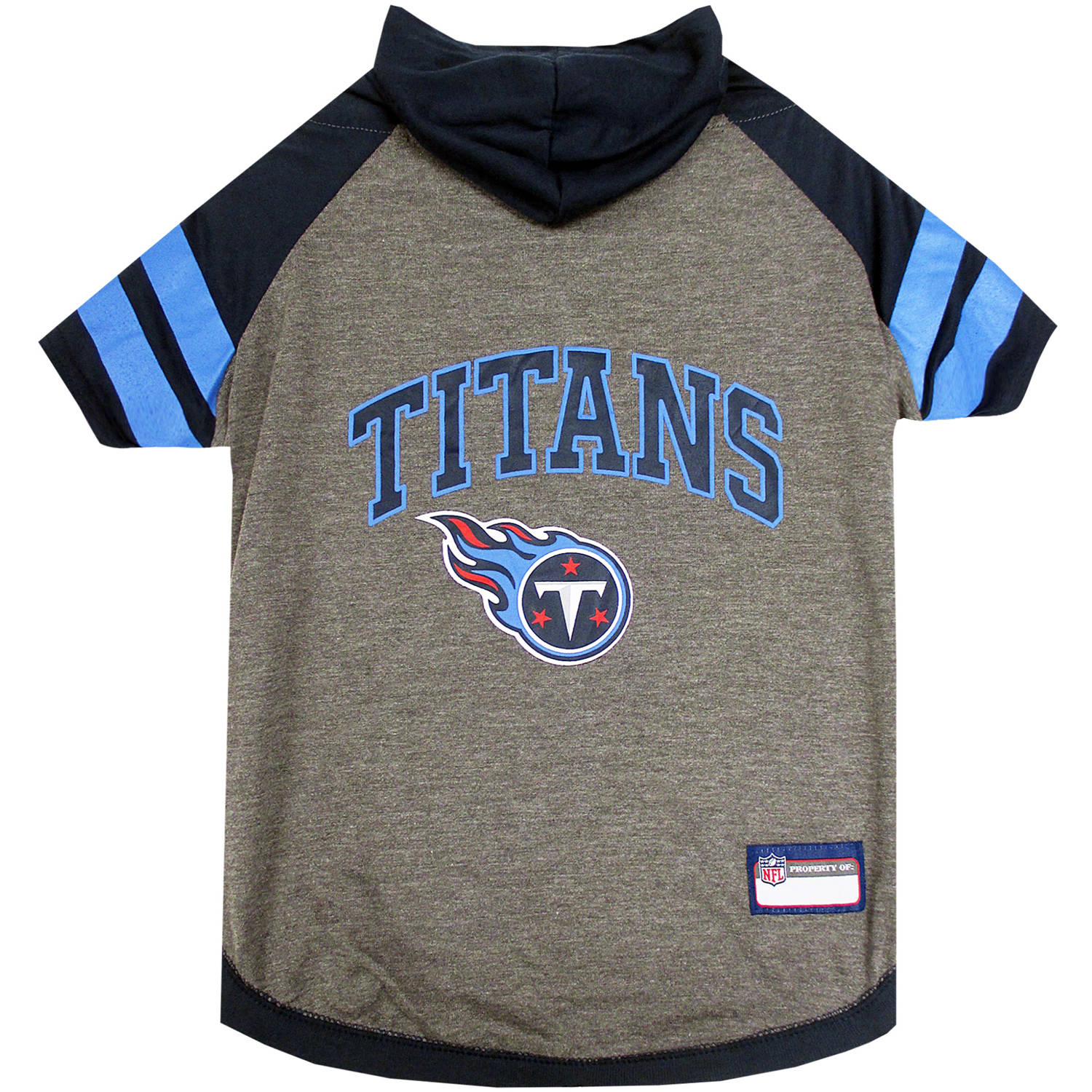 Pets First NFL Tennessee Titans Pet Hoodie Tee Shirt