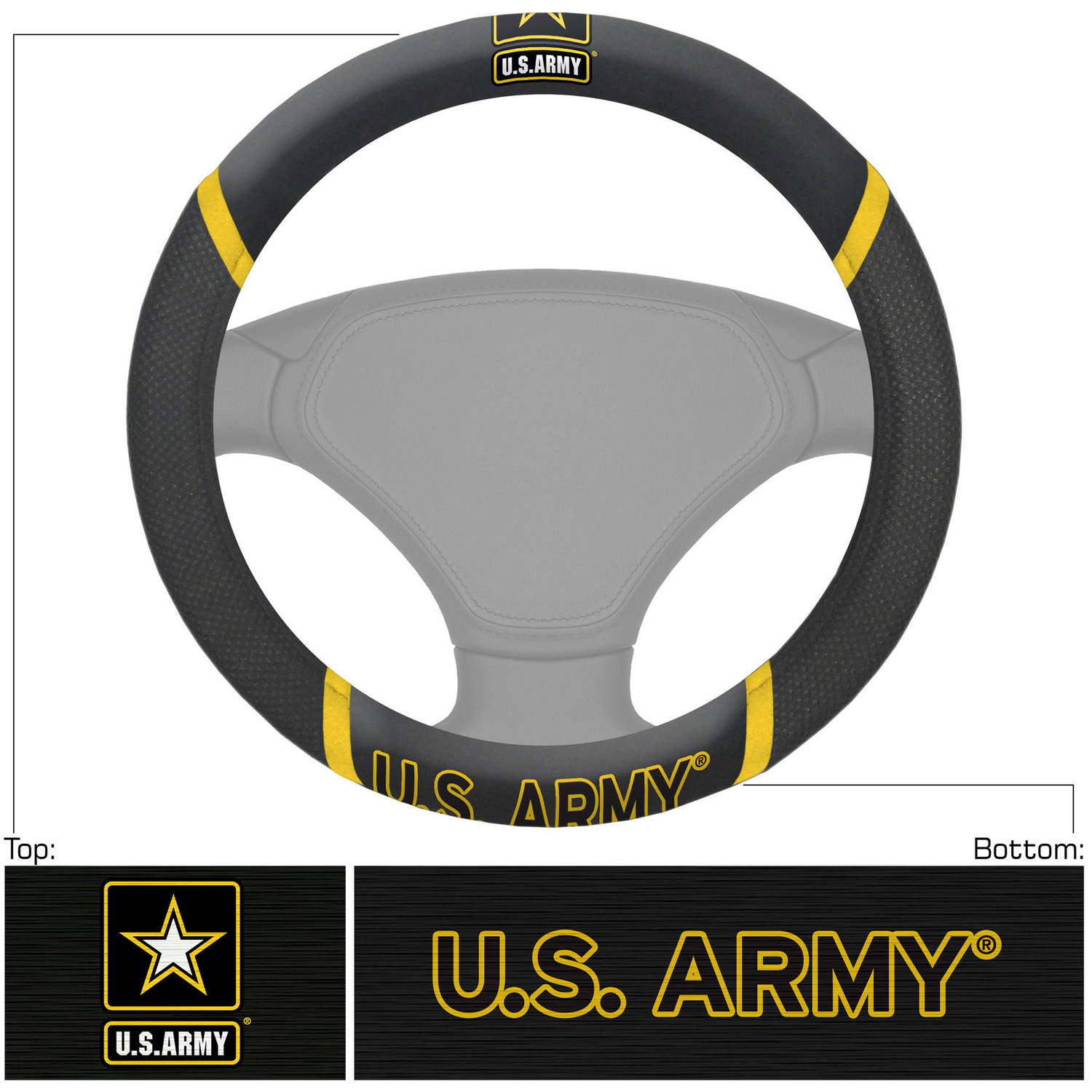 ARMY Steering Wheel Cover