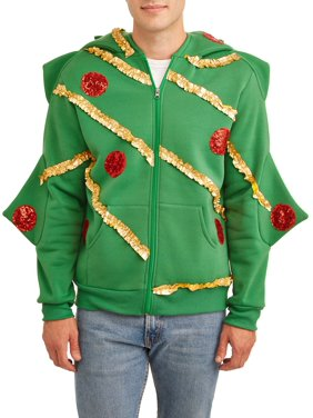 American Stitch Men's Comfy Christmas Tree Hoodie