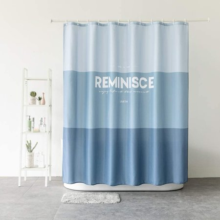 Blue Fashion Shower Curtain Patchwork Modern Cloth Fabric Bathroom Decor Set with Hooks 72x72inch (Blue Gradual) Color:Blue GradualSize: 72x72in fashion shower curtain, also suitable for bedroom,home decorative and hotel, can be washed by hand and machine.Pattern::Animals,Abstract,Solid,Striped,Print,Paisley,Plaid,Ocean,Plants,Forest,Modern,Traditional,Floral etc.Package list:1*Flower Fashion Shower Curtain12*Plastic HooksAttention: The objects' color may a litter difference from the digital images we display due to differences in pc monitors, so please understand it.if you really don't like ,just feel freely to send us message.