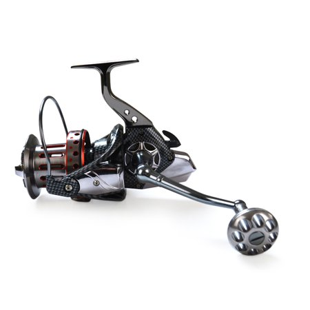 10+1BB Ball Bearings 4.7:1 Lightweight Spinning Fishing Reel Tackle Aluminum Spool Foldable Handle Reels Fishing Tackle 8000 9000 10000 12000 (10000 Series)