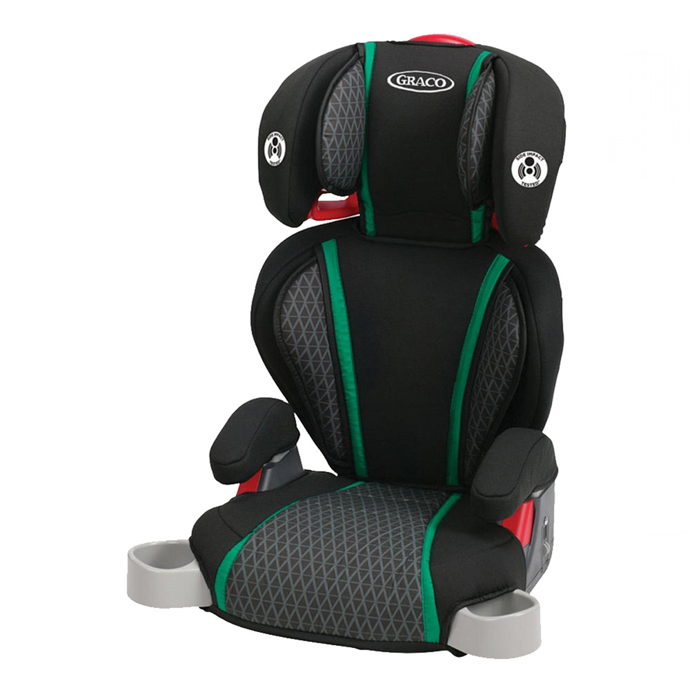 Graco Highback TurboBooster Height Adjustable Car Seat for 30-100 Pounds, Cole