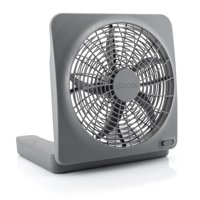 O2COOL 10 inch Battery or Electric Portable Fan, Camping Fan, Tent accessory