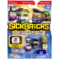 Sick Bricks Sick Team, 5 Character Pack, City vs. Monster