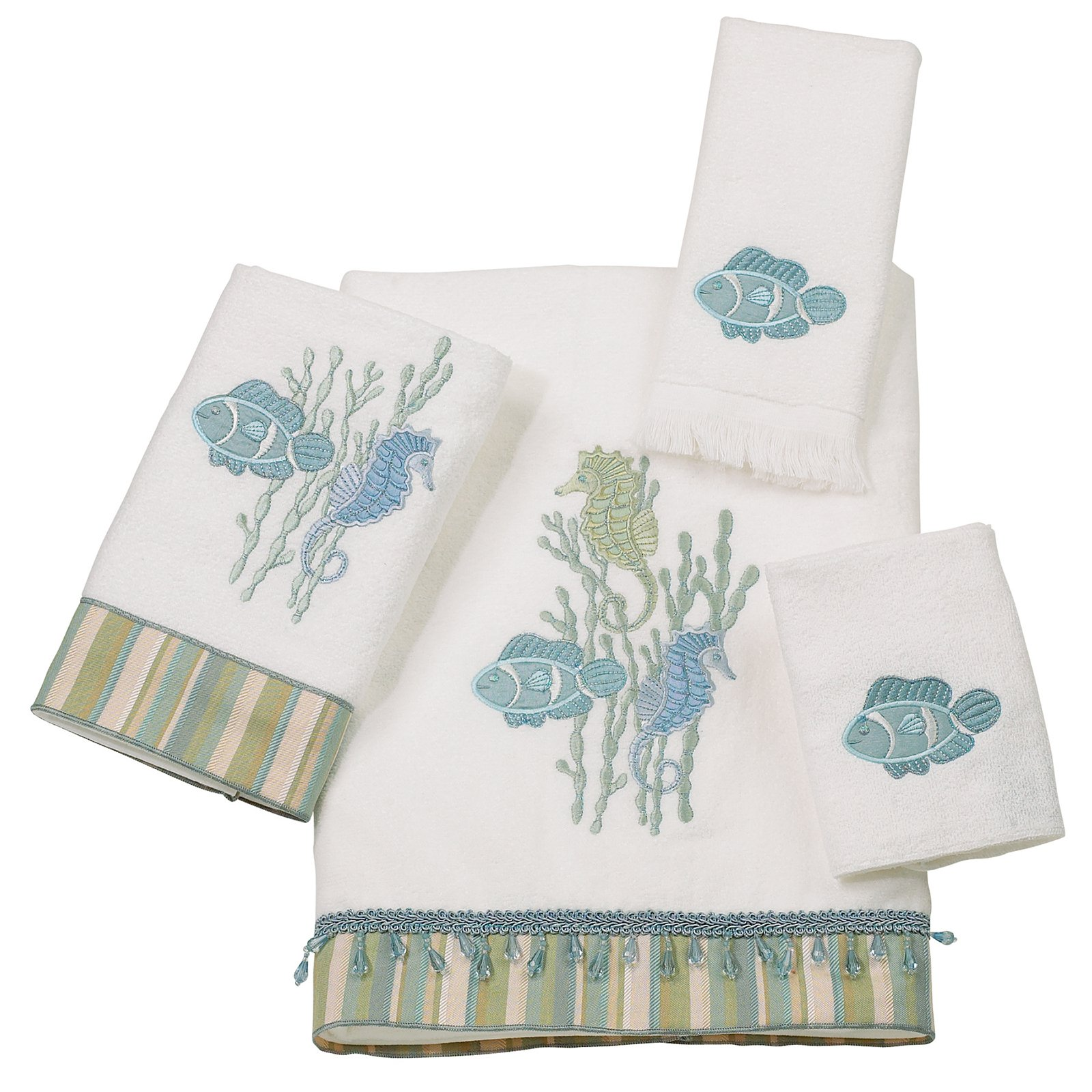 Avanti Linens Reef Life 4-Piece Towel Set