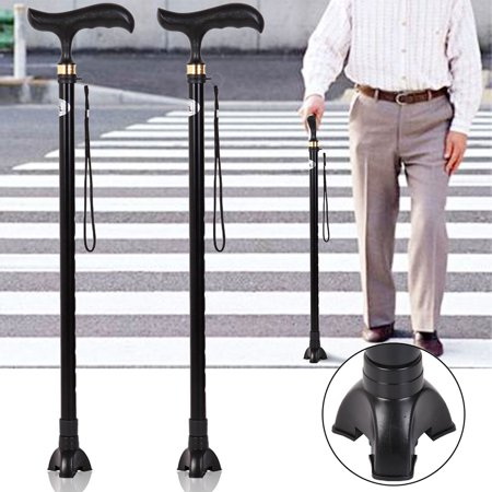 Able Tripod Cane (Lot 3Pcs Rubber Crutches Tripods Walking Cane Tip Standing Rubber Non-Slip Replacement Walking Stick)