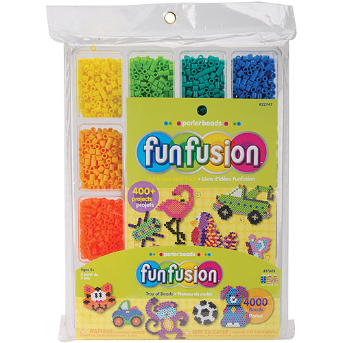 Perler Fuse Beads Fun Fusion Tray of Beads