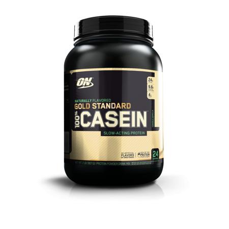Optimum Nutrition Gold Standard 100% Natural Casein Protein Powder, French Vanilla, 24g Protein, 2 Lb (Optimum Casein 2 Pound)