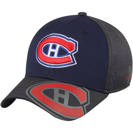 Montreal Canadiens Reebok 2017 NHL Stanley Cup Playoffs Participant Flex Hat - Navy/Gray - OSFA for $<!---->