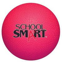 "School Smart 5"" Playground Ball, Red"