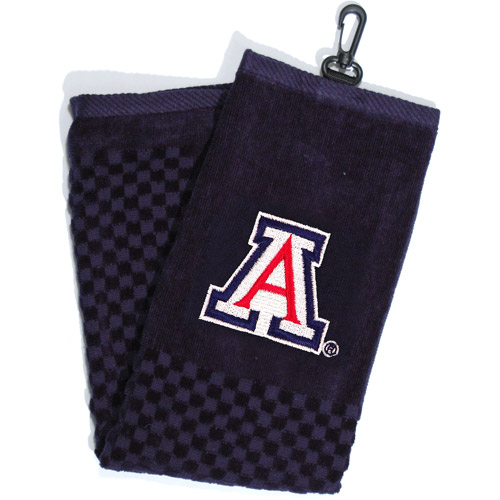 Team Golf NCAA Arizona Embroidered Golf Towel