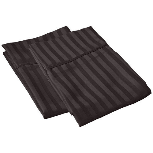 Simple Luxury Vanessa  Microfiber Stripe Pillowcase (Set of 2)